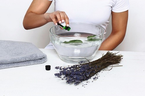 Preparing Facial Steam With Herbs