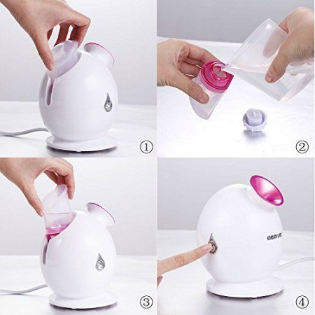 How to use facial steamer.