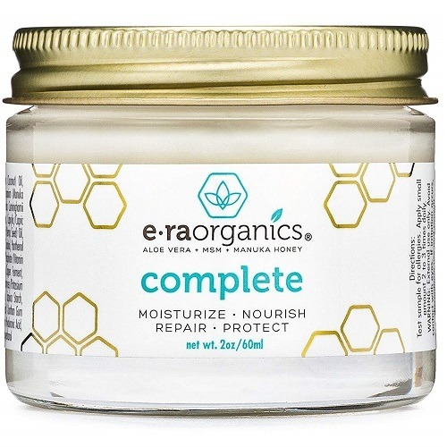 Era Organics Natural Face Moisturizer Cream