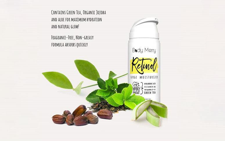 Body Merry Retinol Surge Moisturizer Ingredients