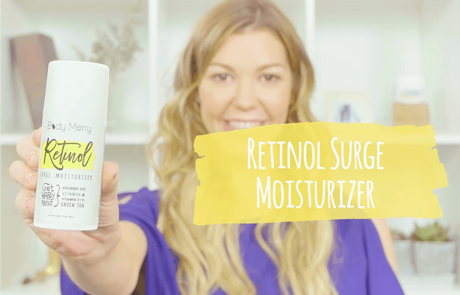 Body Merry Retinol Surge Moisturizer Review